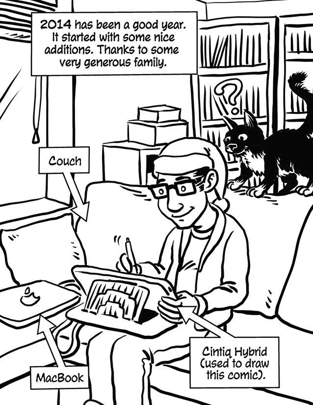 Christmas Comic 2014 – page 3