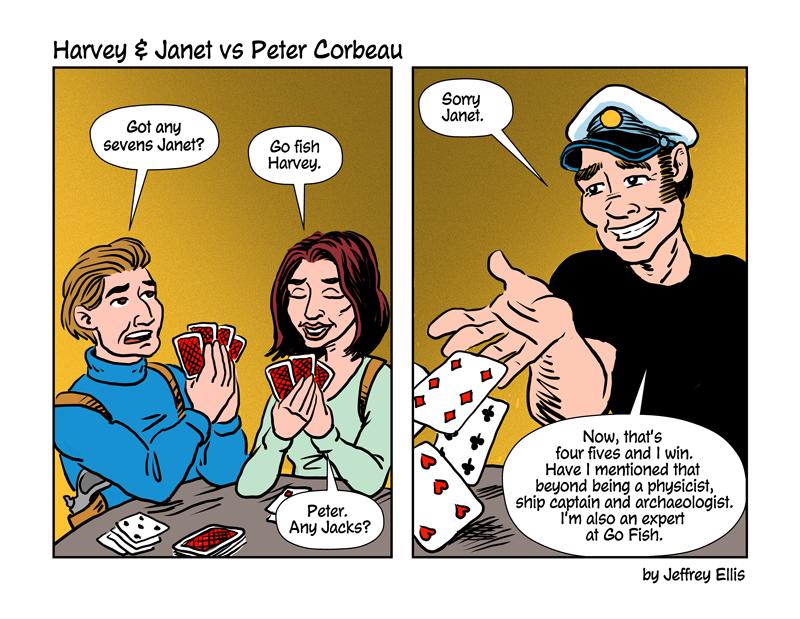 Harvey & Janet VS Peter Corbeau